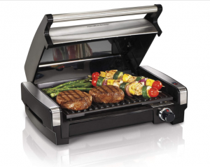 Hamilton Beach 3-in-1 Indoor Grill and Electric Griddle Combo