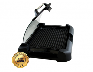 MegaChef Dual Surface Heavy Gauge Aluminum Reversible Indoor Grill and Griddle