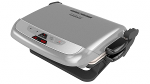 George Foreman Multi-Plate Evolve Grill With Ceramic Grilling Plates and Waffle Plates